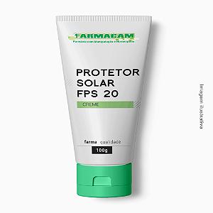 Protetor Solar Creme FPS 20