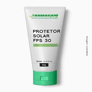 Protetor Solar Gel FPS 30