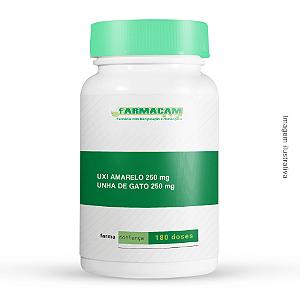 Uxi Amarelo 250 mg + Unha de Gato 250 mg