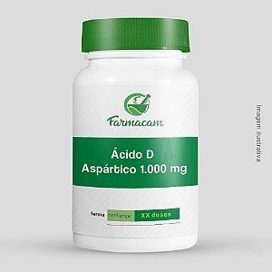Ácido aspártico D 1.000 mg