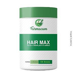 Hair Max - Força e volume para os cabelos