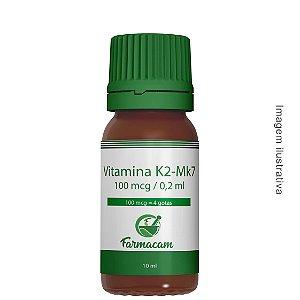 Vitamina K2-mk7 100 mcg - Base Oleosa