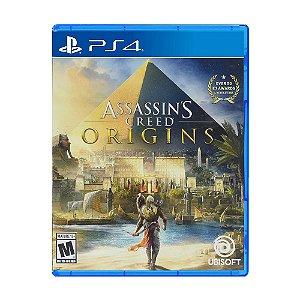 JOGO PS4 ASSASSINS CREED ORIGINS