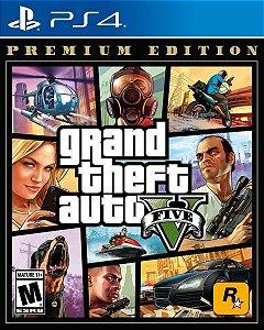 JOGO PS4 GRAND THEFT AUTO V - GTA V