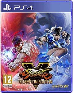JOGO PS4 STREET FIGHTER V CHAMPION EDITION