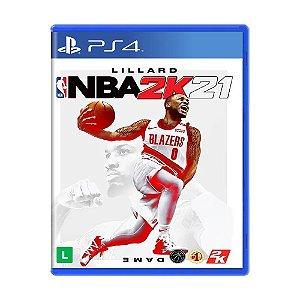 JOGO PS4 NBA 2K21 - PLAYSTATION 4