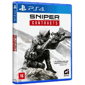 JOGO PS4 SNIPER GHOST WARRIOR CONTRACTS