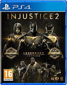 JOGO PS4 INJUSTICE 2 LEGENDARY EDITION