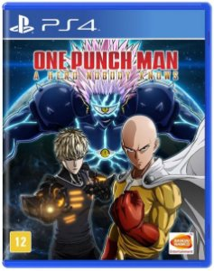 JOGO PS4 ONE PUNCH MAN A HERO NOBODY KNOWS