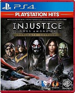 JOGO PS4 INJUSTICE GODS AMONG US ULTIMATE EDITION