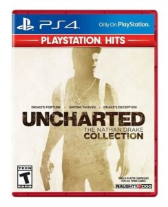 JOGO PS4 UNCHARTED THE NATHAN DRAKE COLLECTION