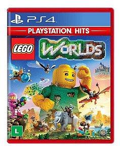 JOGO PS4 LEGO WORLDS - PLAYSTATION