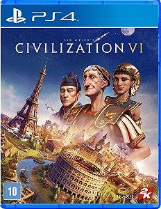 JOGO PS4 CIVILIZATION VI