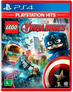 JOGO PS4 LEGO MARVEL VINGADORES