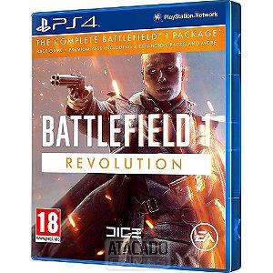 JOGO PS4 BATTLEFIELD 1 REVOLUTION