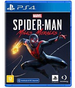JOGO PS4 SPIDERMAN MILES MORALES