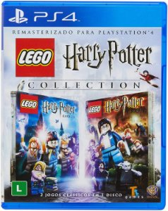 JOGO PS4 LEGO HARRY POTTER COLLECTION