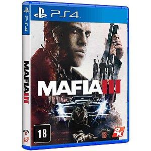 JOGO PS4 MAFIA 3 - PLAYSTATION