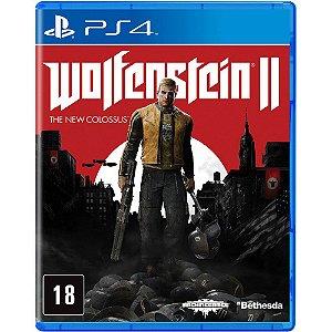 JOGO PS4 WOLFENSTEIN 2 THE NEW COLOSSUS