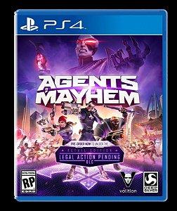 JOGO PS4 AGENTS OF MAYHEM