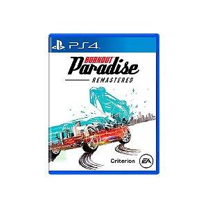 JOGO PS4 BURNOUT PARADISE