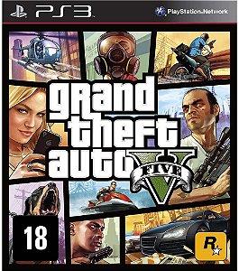 JOGO PS3 GRAND THEFT AUTO V - GTA V