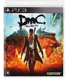 JOGO PS3 DMC DEVIL MAY CRY