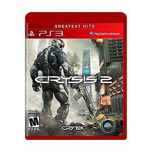 JOGO PS3 CRYSIS 2 - PS3