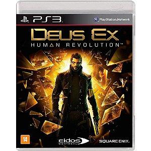 JOGO PS3 DEUS EX HUMAN REVOLUTION