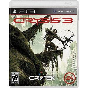 JOGO PS3 CRYSIS 3 - PS3