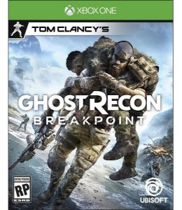 JOGO XBOX ONE GHOST RECON BREAKPOINT