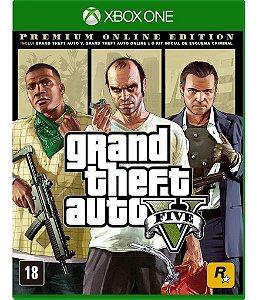 XBOX ONE GTA V PREMIUM ONLINE EDITION
