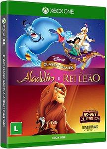 JOGO XBOX ONE DISNEY CLASSIC GAMES ALADDIN E O REI LEAO