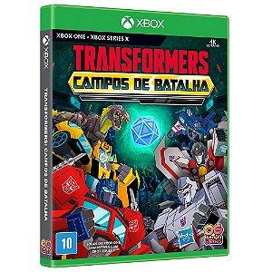 JOGO XBOX ONE TRANSFORMERS CAMPOS DE BATALHA