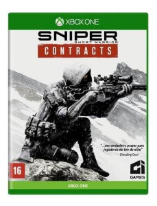 JOGO XBOX ONE SNIPER GHOST WARRIOR CONTRACTS