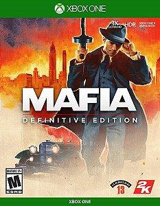 JOGO XBOX ONE MAFIA DEFINITIVE EDITION