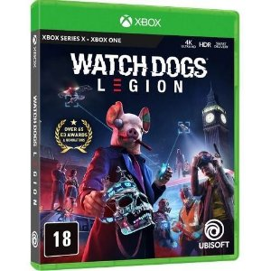 XBOX ONE WATCH DOGS LEGION C/ PACOTE GOLDEN KING