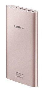 CARREGADOR PORTATIL SAMSUNG 10000MAH USB TIPO C ROSE