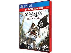 JOGO PS4 ASSASSINS CREED IV BLACK FLAG