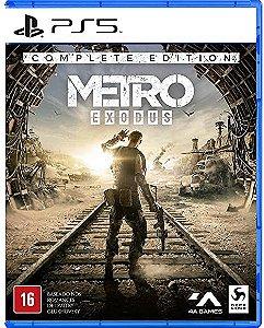 JOGO PS5 METRO EXODUS COMPLETE EDITION