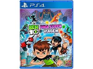 JOGO PS4 BEN 10 UMA SUPER VIAGEM