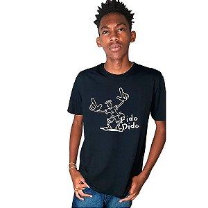 Camiseta estampada - Personagem Fido Dido