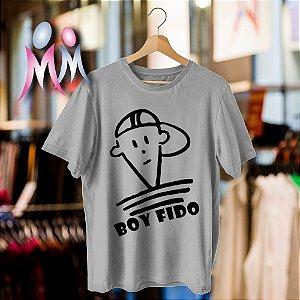 Camiseta estampada Boy Fido