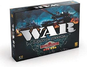 Jogo War - Edição Especial Grow