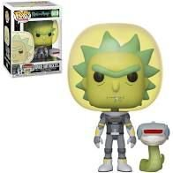 Funko POP! Space Suit Rick with Snake