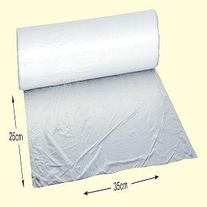 Bobina plástica Folha frios 25x35cm c/1000