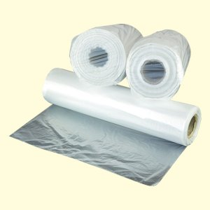 Bobina plástica saco 28x42 - 5Lt 0,03 Solda fundo