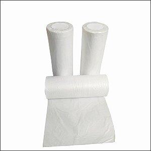 Bobina plástica saco 35x50 -10Lt  fosca reforçada