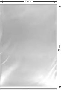 Saco PP cristal 8x12x0,05 c/1000