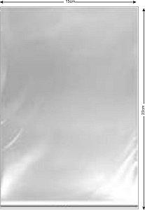 Saco PP cristal 15x22x0,05 c/1000